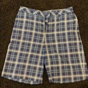 Bolle golf shorts- plaid